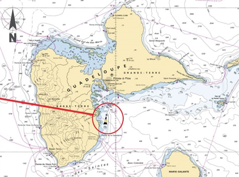 Une nouvelle bouée nautique pour signaler la caye Gros Loup