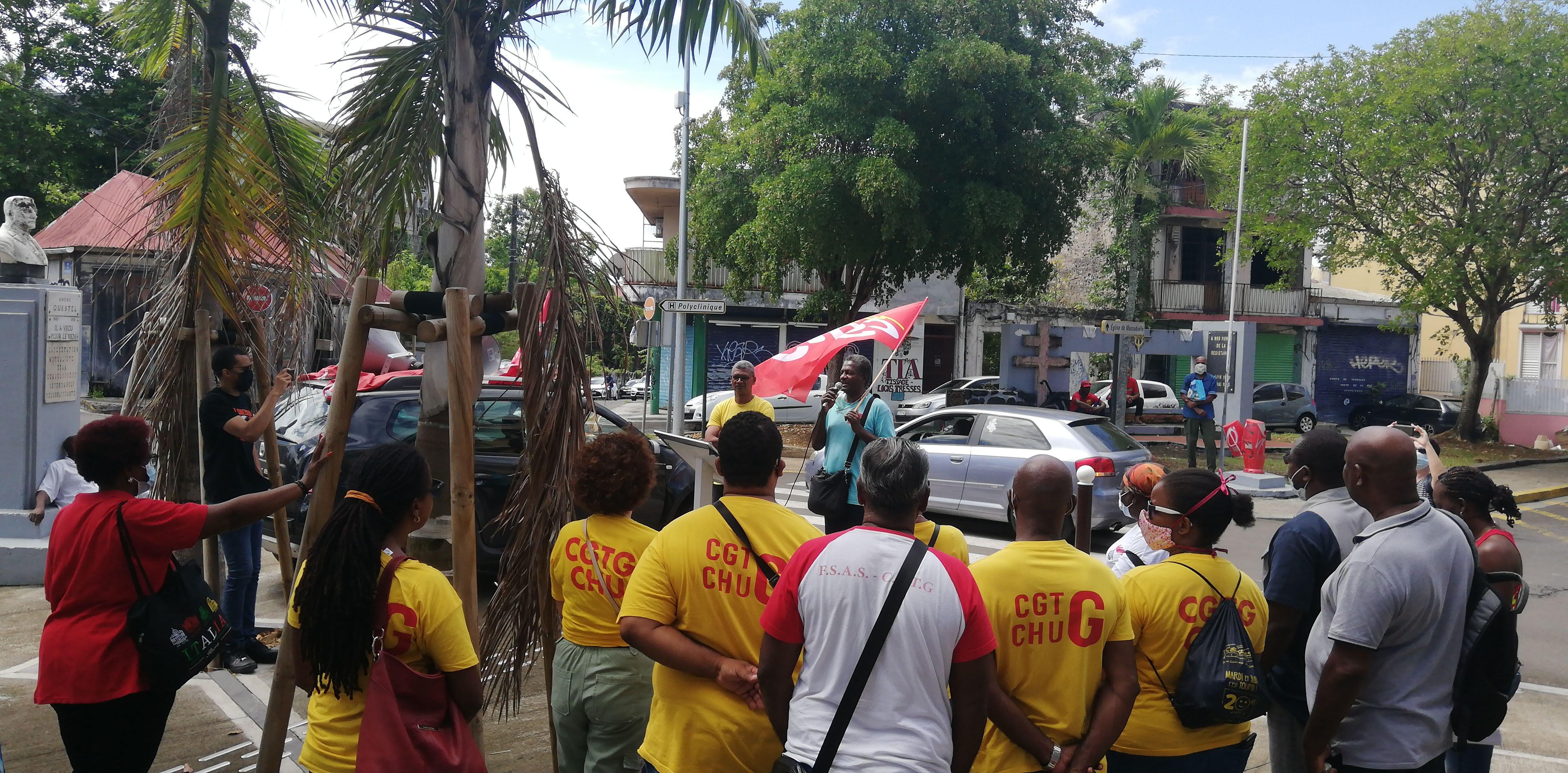 Menaces de mort pendant la grève du CHU : Rony Tillé relaxé