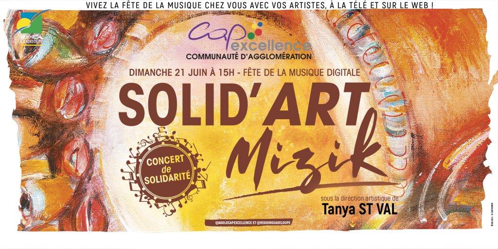 """Le concert """"Solid'Art Mizik"""" : 42 artistes pour la fête de la musique"""