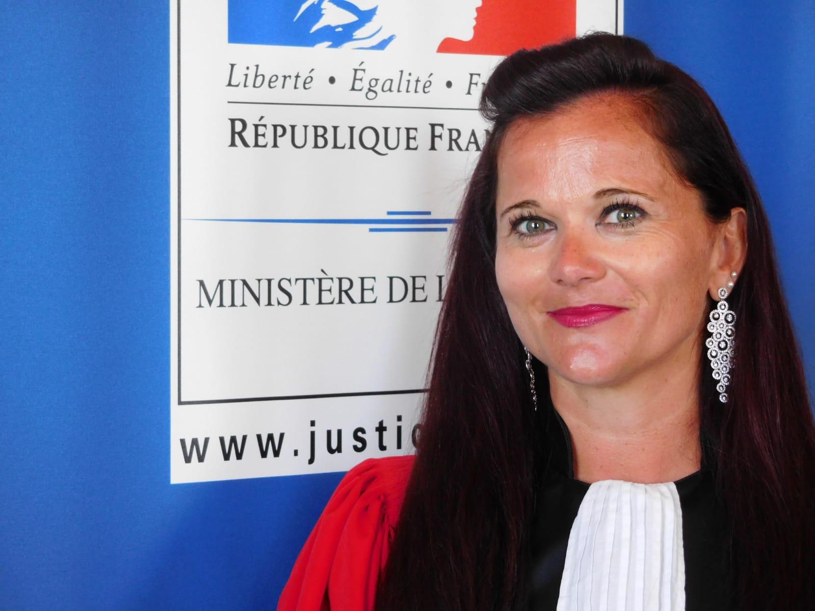 Élodie Rouchouse, nouvel avocat général à la Cour d'Appel de Basse-Terre