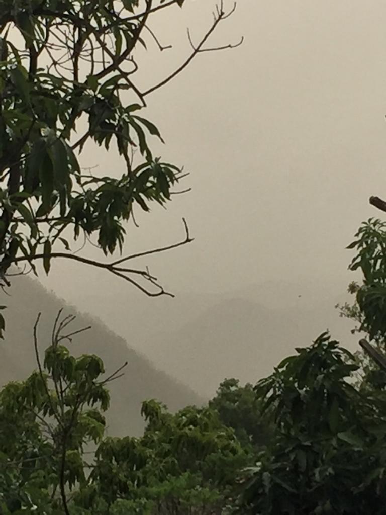 La Guadeloupe sous une chape de brume de sable