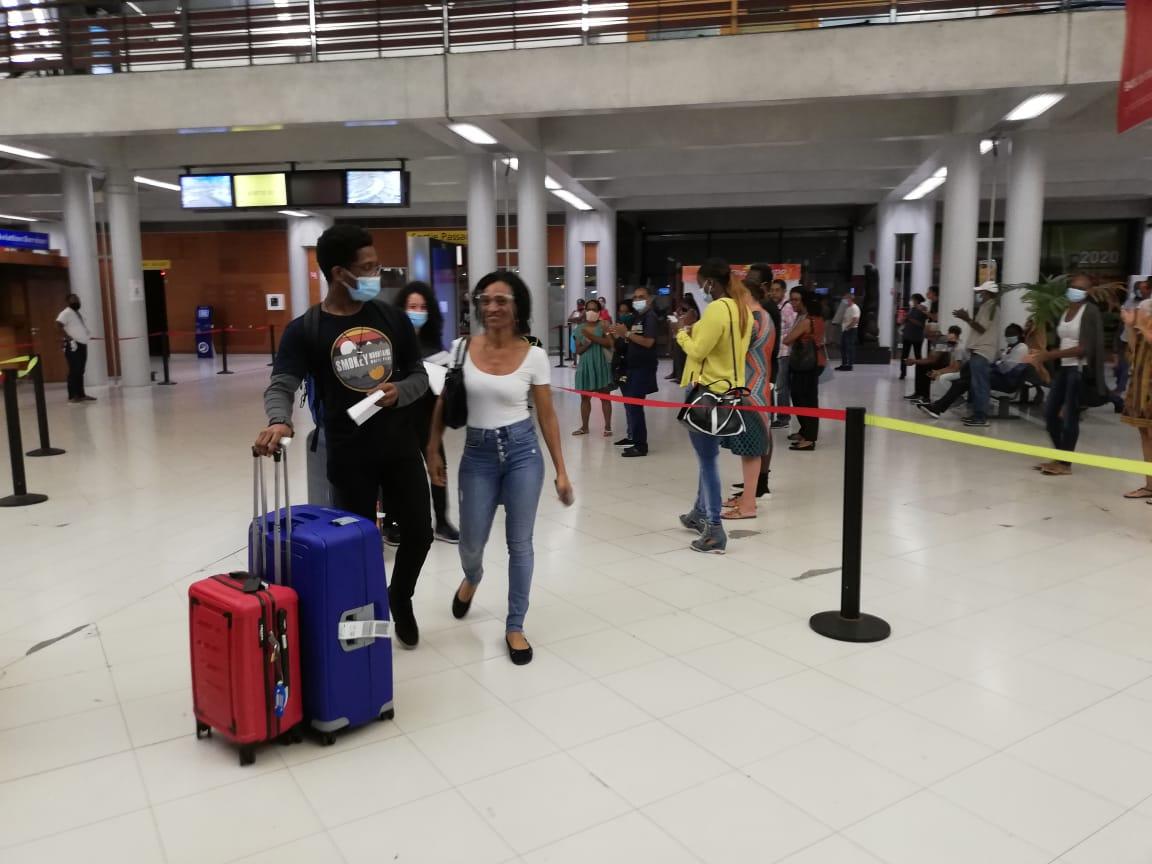 Les étudiants martiniquais bloqués au Canada sont rentrés chez eux