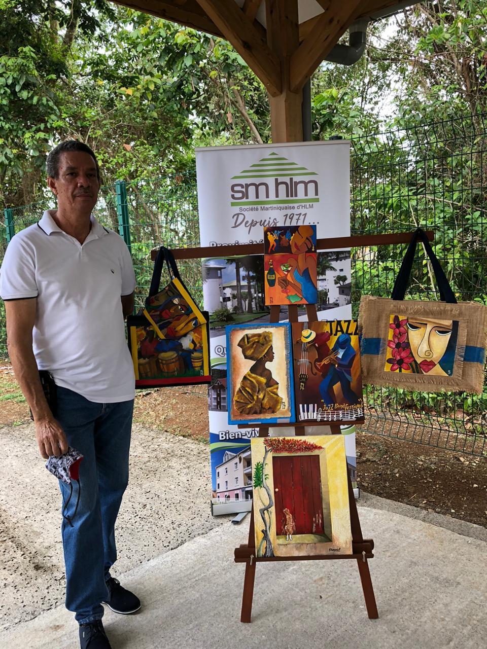 Les locataires SMHLM débordent de créativité artistique