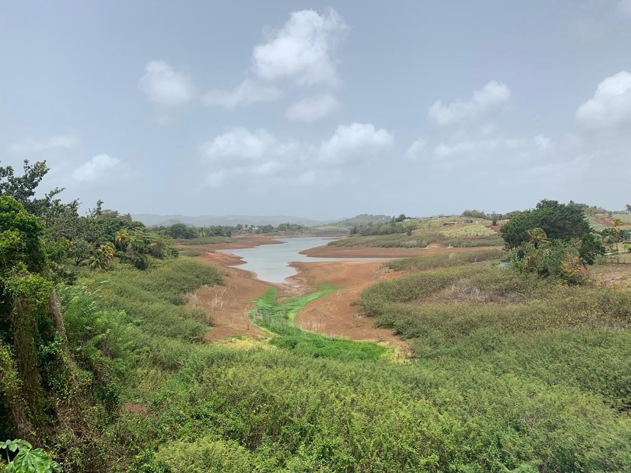 Sécheresse : les images inquiétantes du barrage de la Manzo
