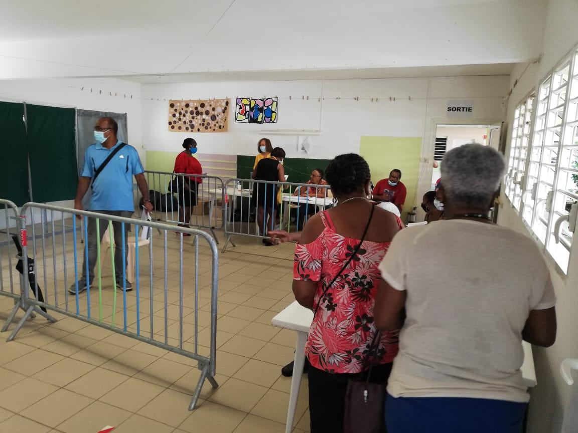 Municipales 2020 : la participation à 17 heures en Martinique
