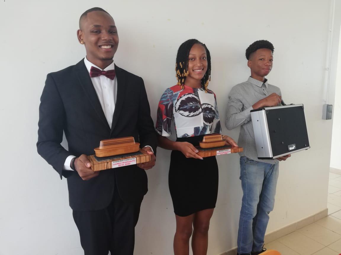 Trois jeunes à l'avenir prometteur récompensés
