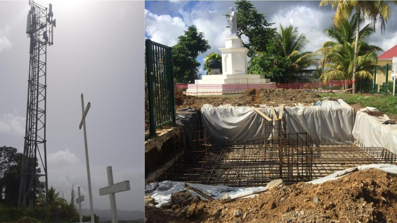 Deux antennes relais dégradées à Saint-Joseph