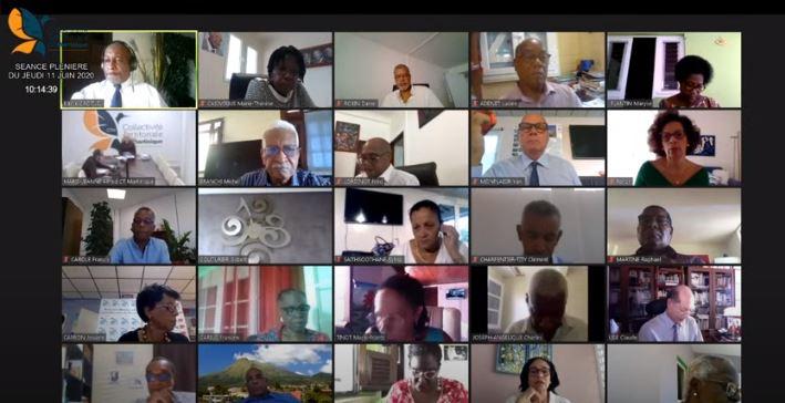 Plénière de la CTM : les élus se penchent sur le compte administratif 2019
