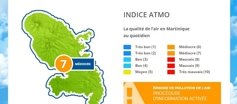 Un air qui reste de qualité médiocre ce week-end