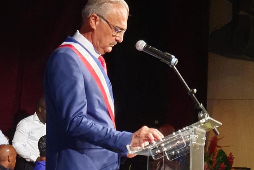André Atallah élu maire de Basse-Terre