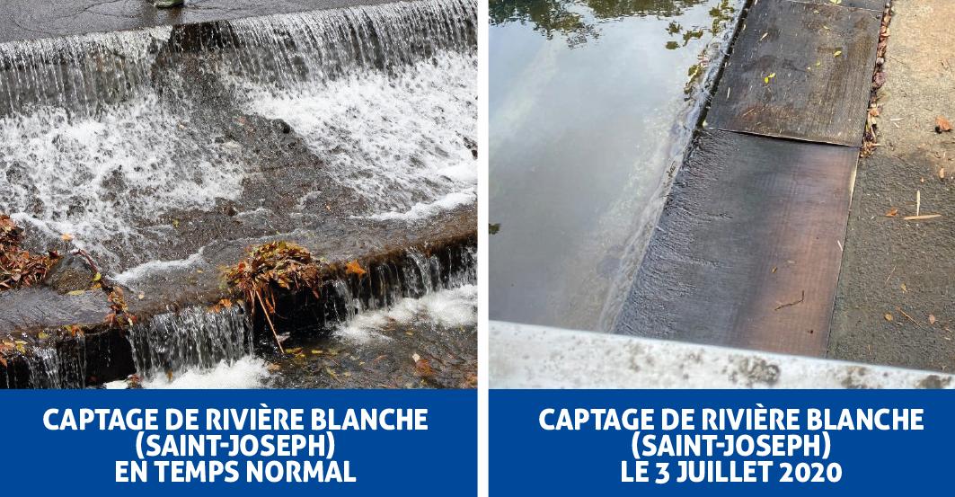 Baisse continue de la ressource en eau en Martinique