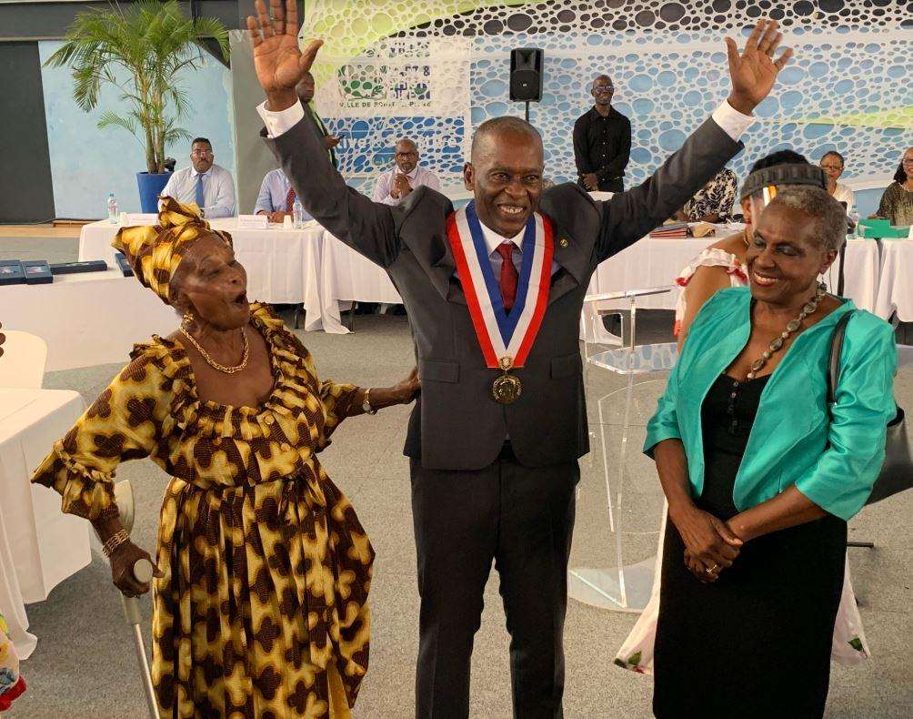 Harry Durimel devient officiellement le  nouveau maire de Pointe-à-Pitre