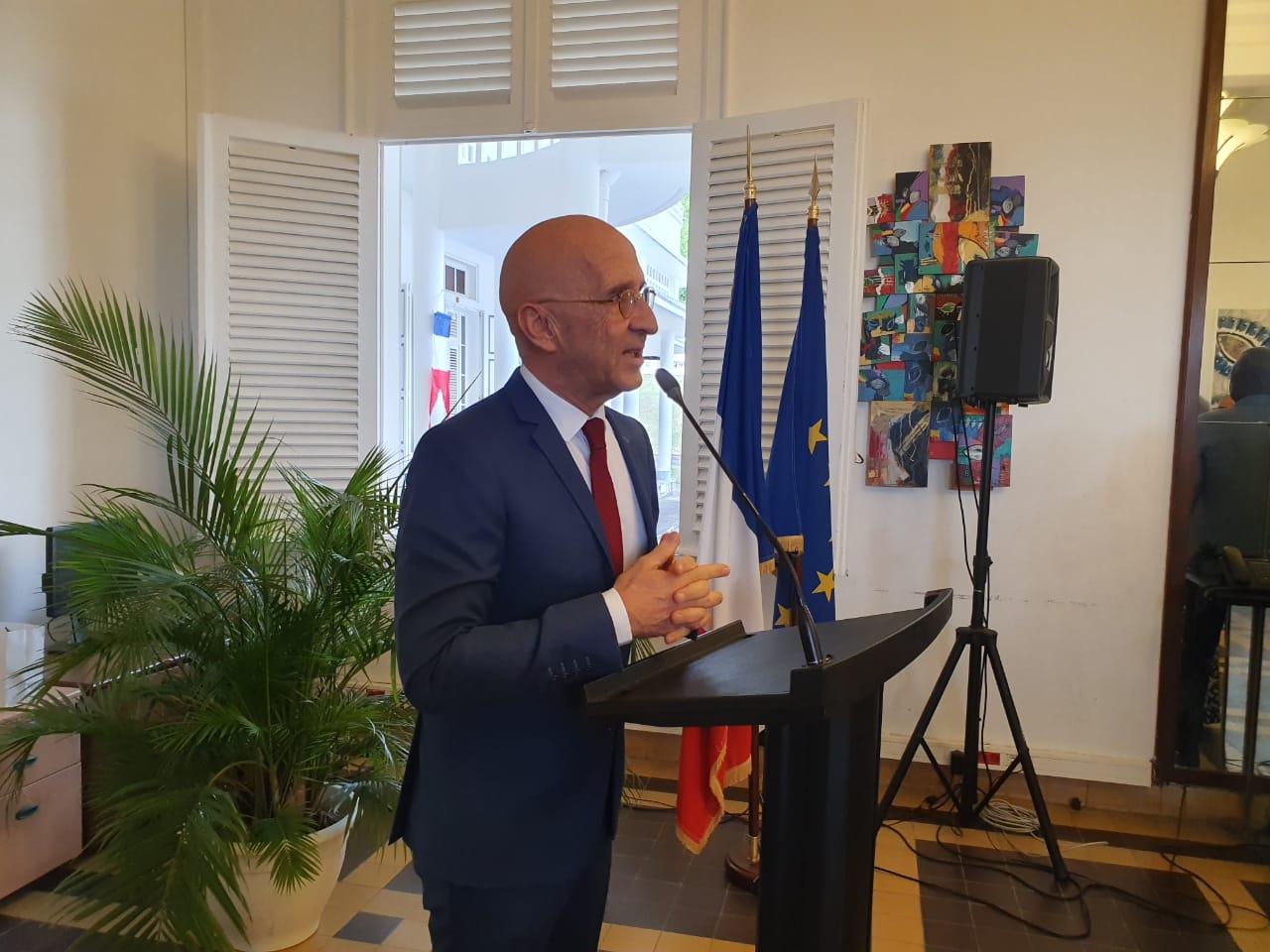 L'au revoir de Philippe Gustin à la Guadeloupe