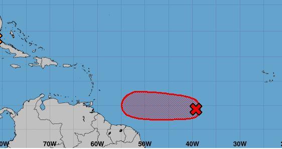 L'onde tropicale 19 se renforce et s'organise