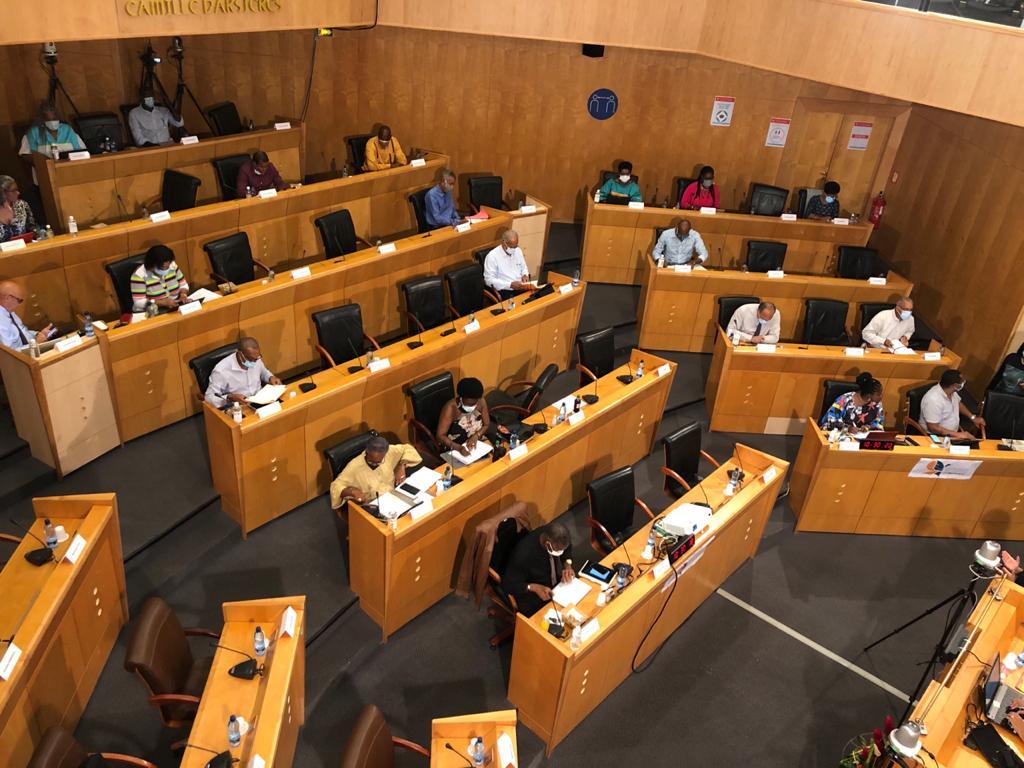 Première séance plénière en présentiel à la CTM