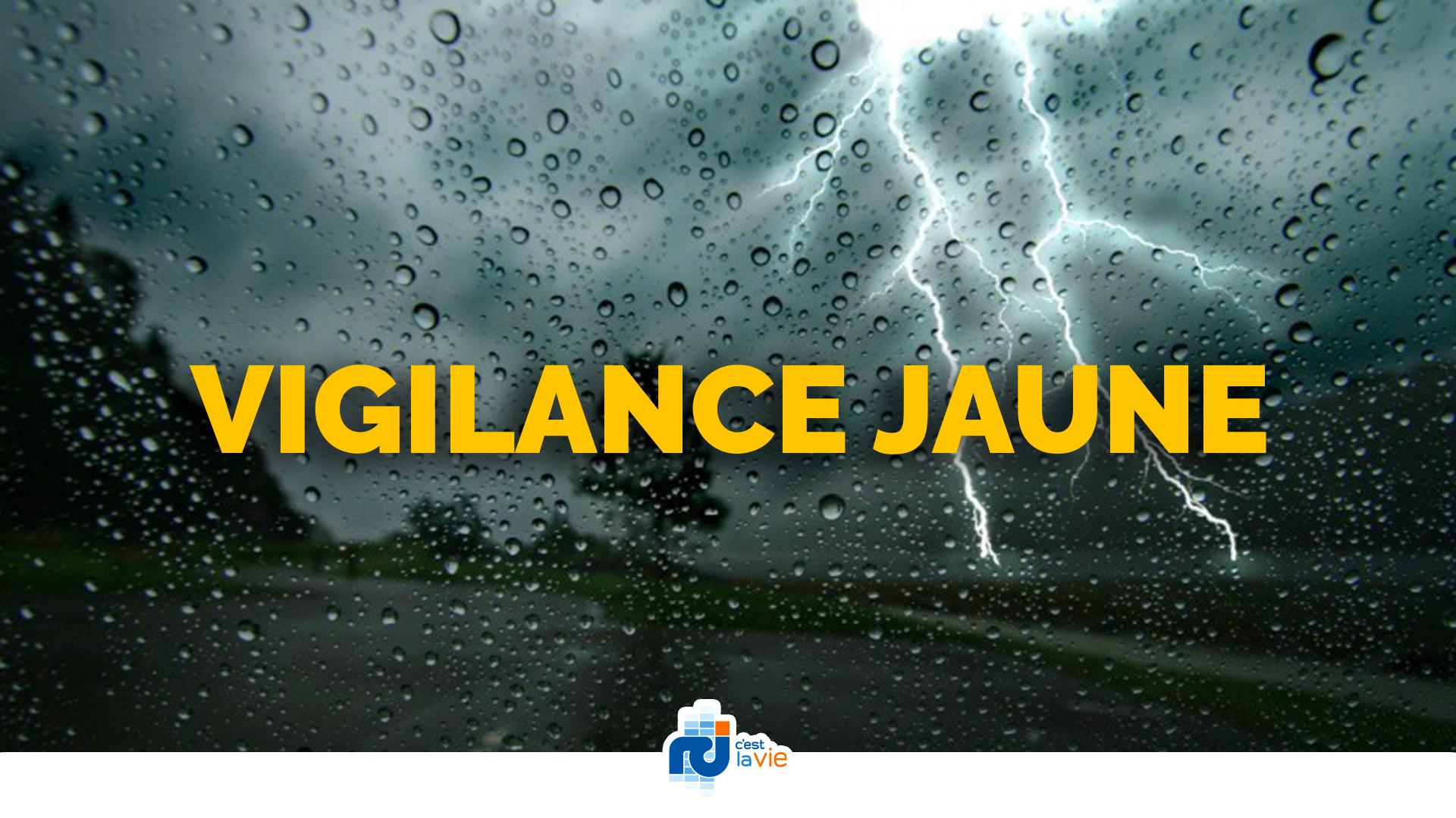 La panne d'Alizés provoque des orages : la Martinique en vigilance jaune
