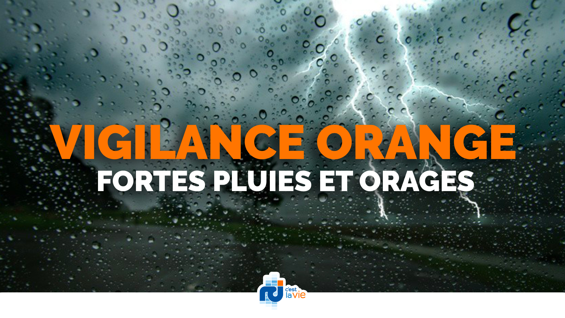 Meteo France place la Martinique en vigilance orange pour fortes pluies et orages