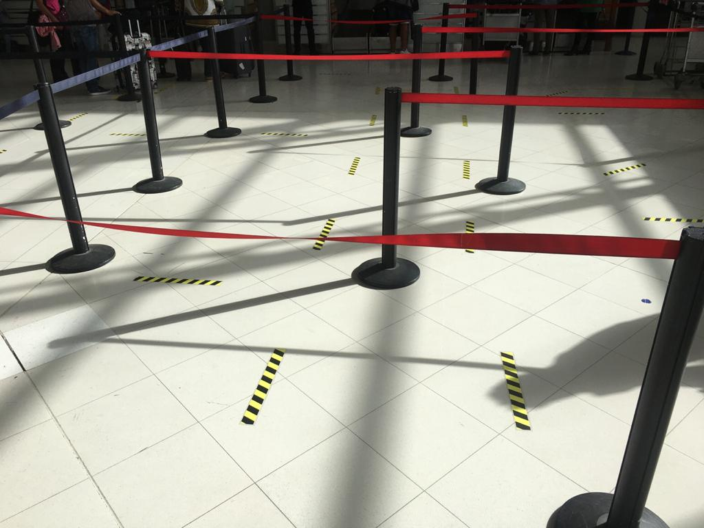 De nouvelles mesures sanitaires à l'aéroport Aimé-Césaire