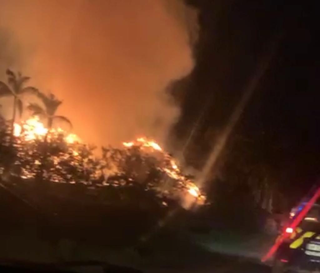 Les pompiers toujours mobilisés à Perriolat au François
