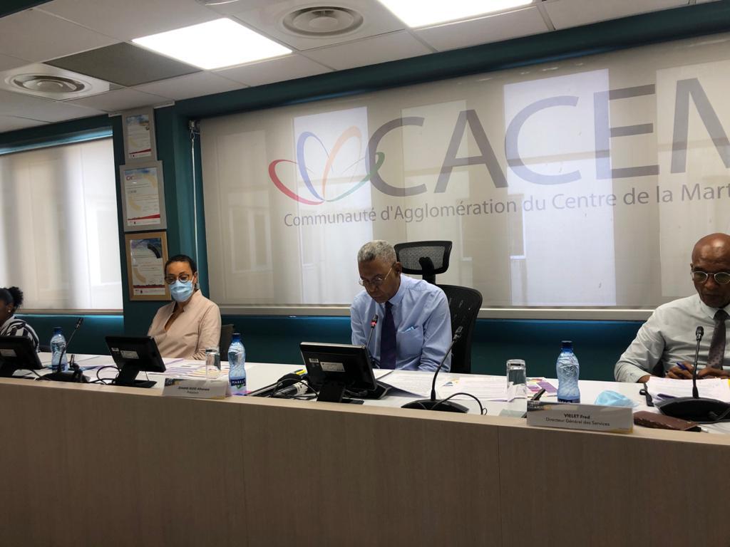 Luc Louis Clémenté prend la présidence de la Cacem pour les 6 prochaines années