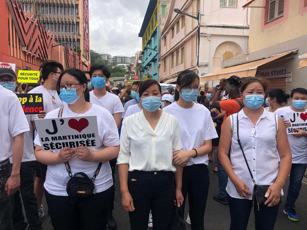 Émotion et désir de sécurité à la marche en mémoire du commerçant chinois abattu dans son magasin