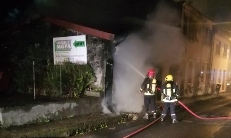 Un deuxième incendie en moins de 24 heures à Saint-Pierre