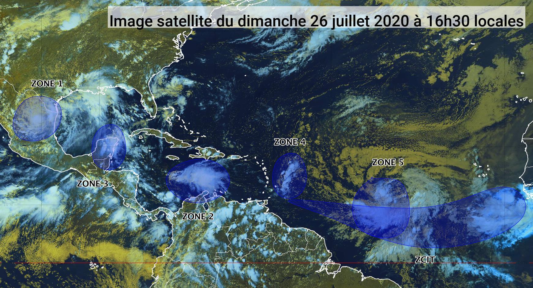 L'onde tropicale numéro 21 pourrait devenir une tempête ou un ouragan dans les jours à venir