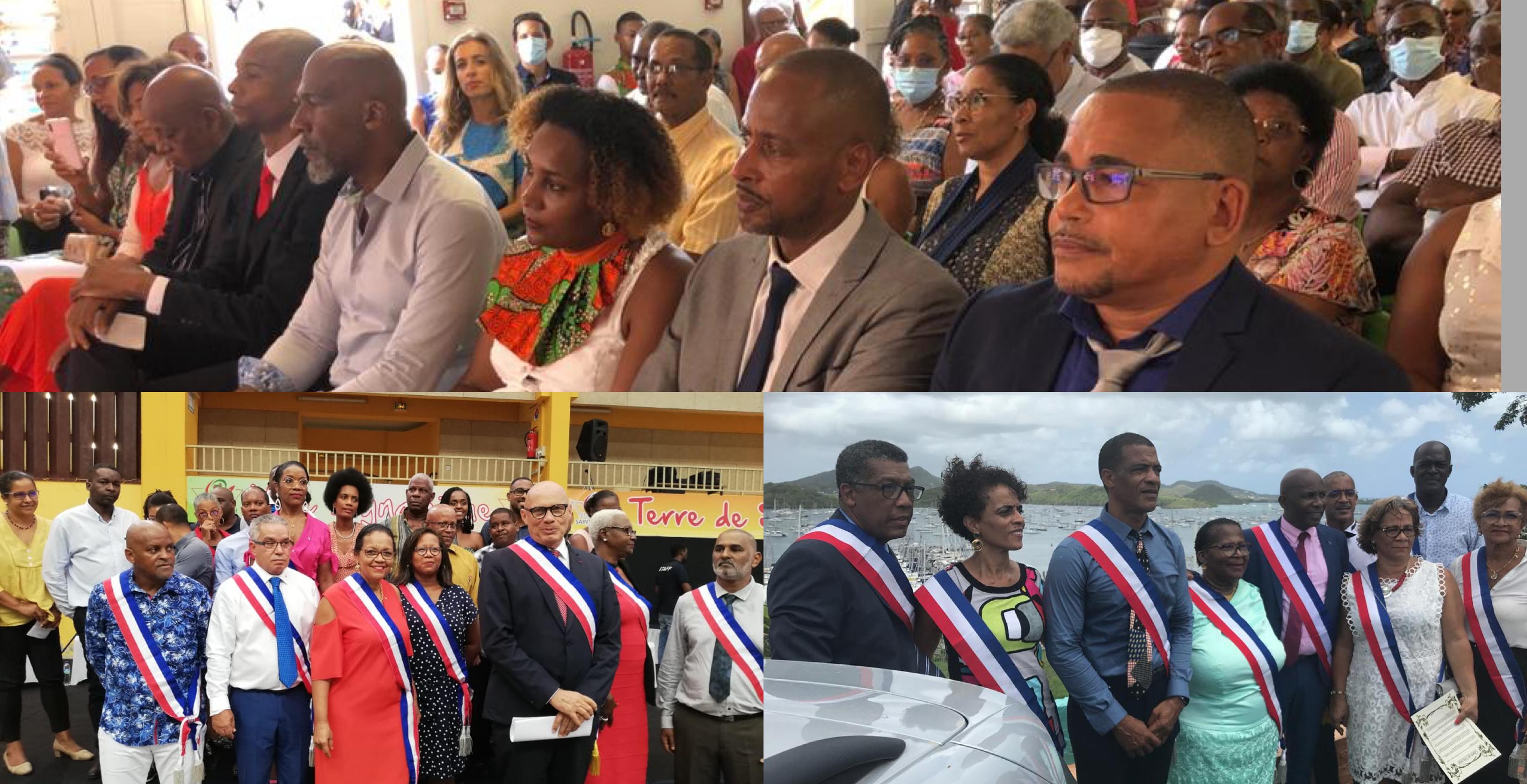 Municipales 2020 : Yan Monplaisir, José Mirande et Hugues Toussay sont officiellement maires