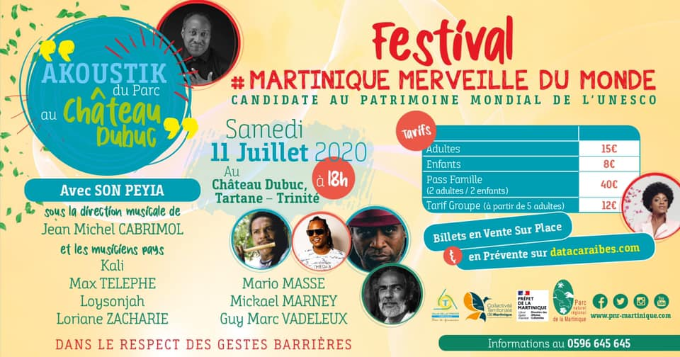 Martinique, merveille du monde...en musique avec Son Péyia
