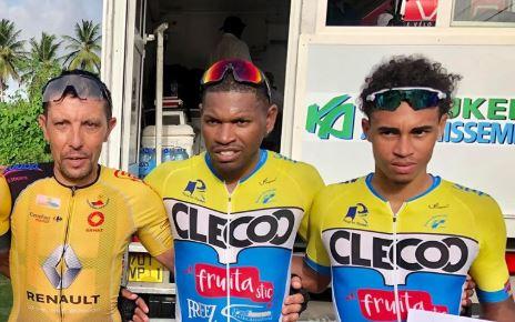 Michaël Stanislas remporte la ronde Budan, la première course post confinement en Guadeloupe