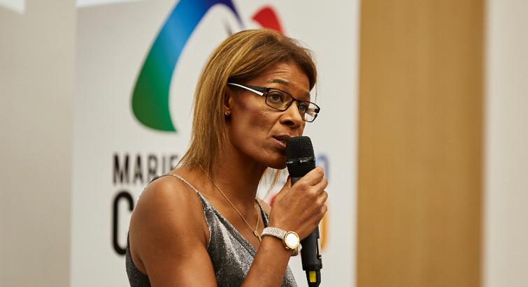 """""""L'athlétisme a besoin d'un nouveau souffle"""", pour Marie-Christine Cazier qui brigue la présidence de la FFA"""