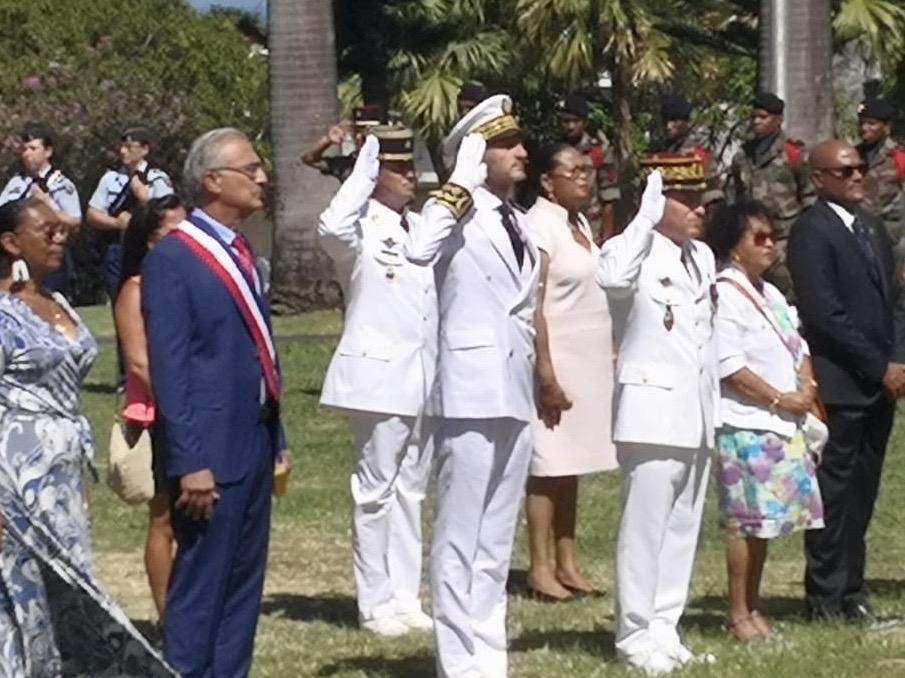 Alexandre Rochatte, le nouveau préfet de Guadeloupe a été installé officiellement