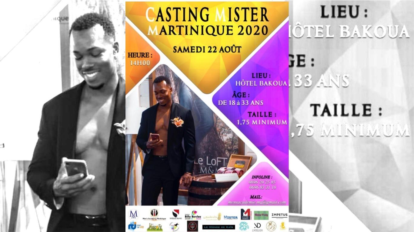 Casting Mister Martinique 2020