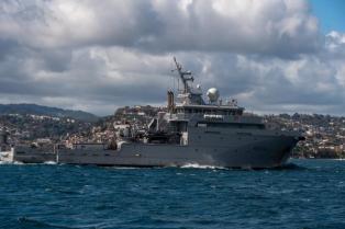 Saison cyclonique : le soutien d'un navire français à 5 pays caribéens