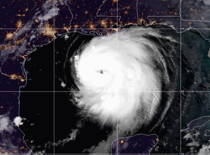Laura est un ouragan majeur de catégorie 3 qui menace la Louisiane et le Texas