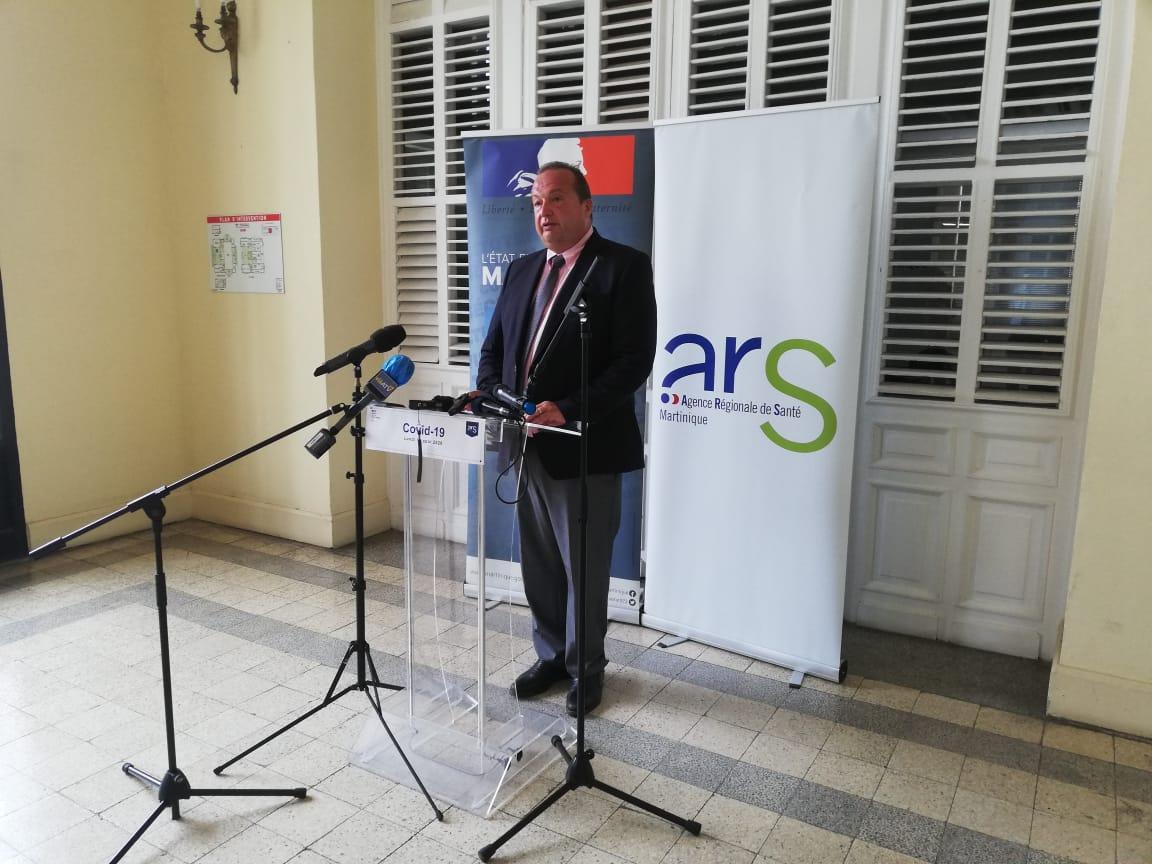 COVID-19: 104 nouveaux cas en une semaine en Martinique