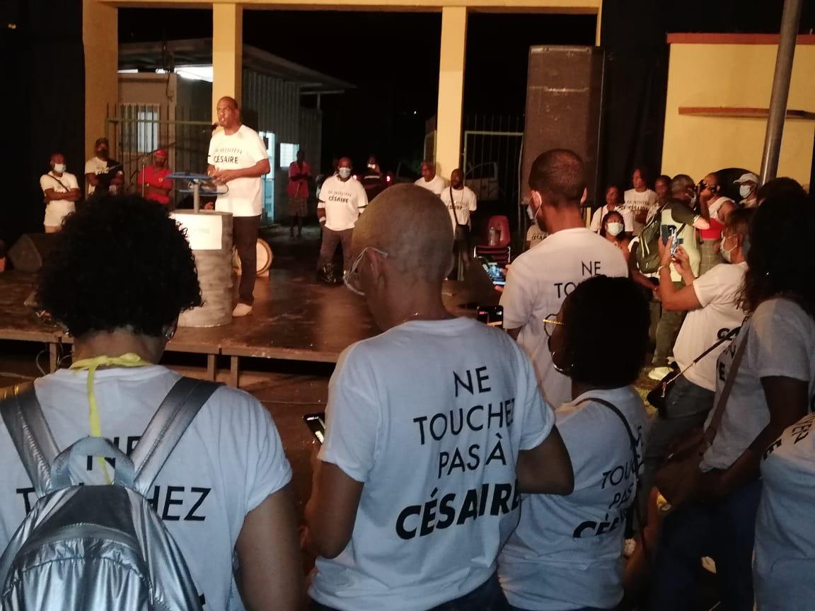 Rassemblement historique et culturel du PPM devant la porte du tricentenaire