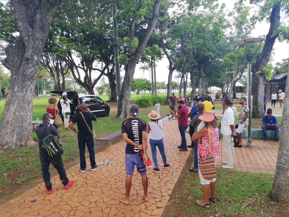 Le collectif des Martiniquais.e.s éveillé.e.s mobilisé sur la Savane