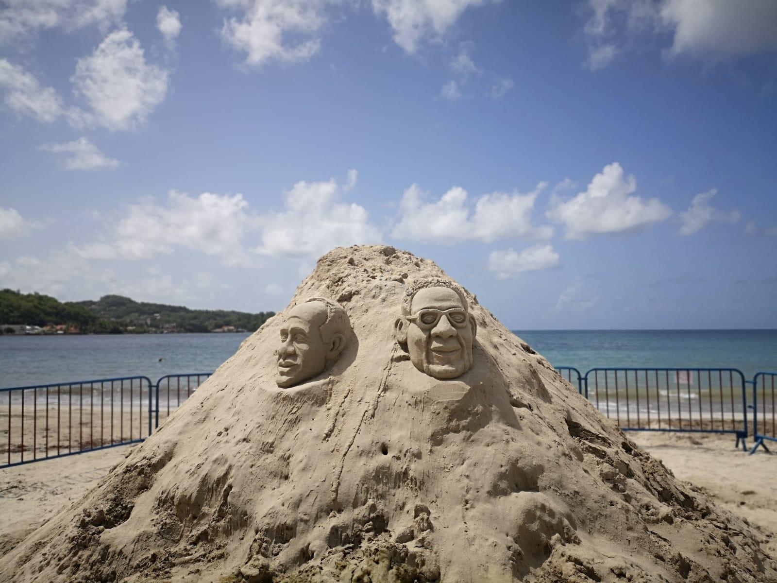 Le sable prend vie à Trinité