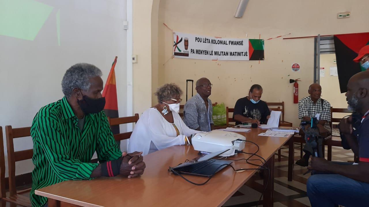 Mobilisation du komitè 13 Janvié
