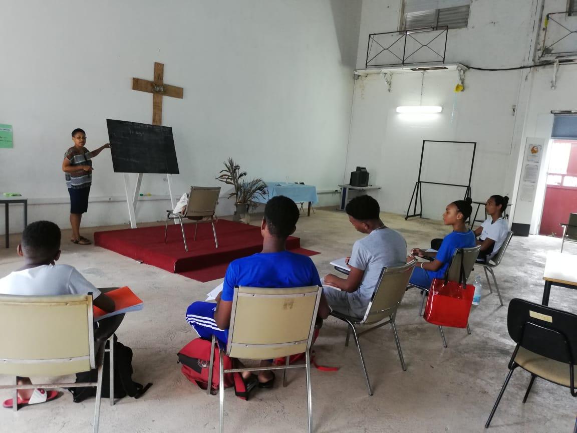 Des cours de rattrapage au presbytère de la cathédrale