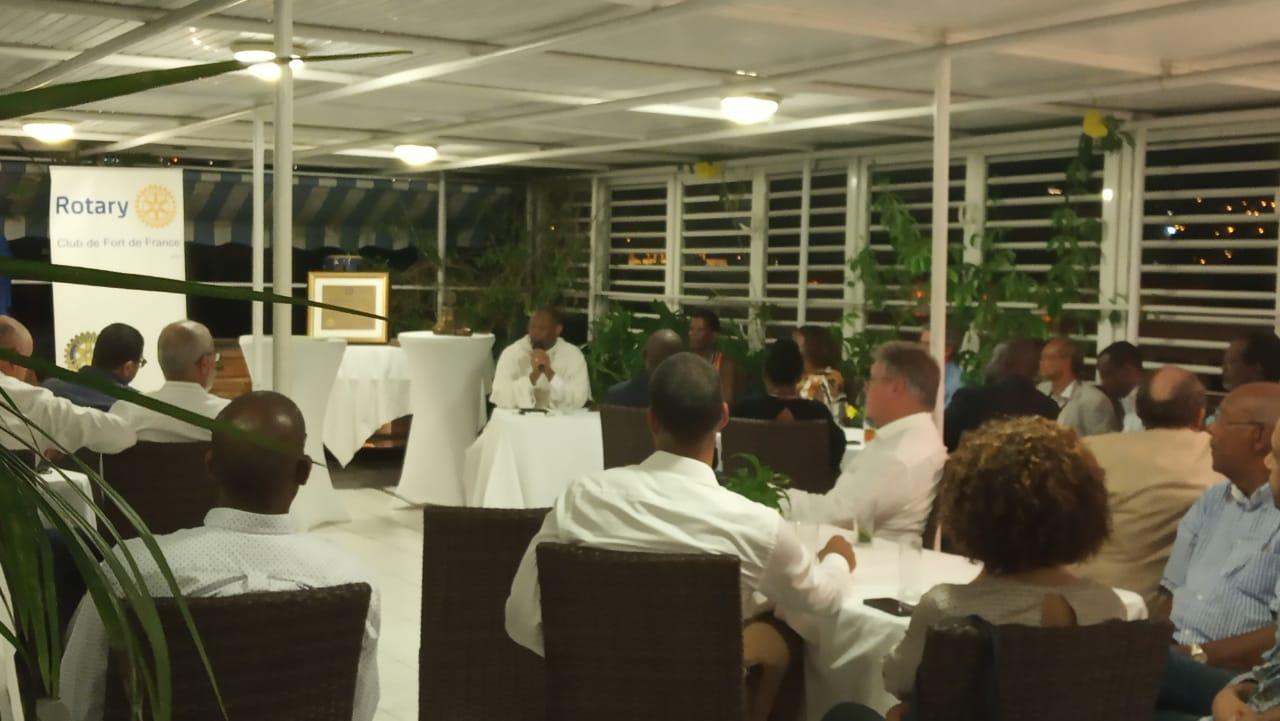 Pour ses 63 ans le Rotary Club de Fort-de-France s'interroge sur : où va la Martinique ?