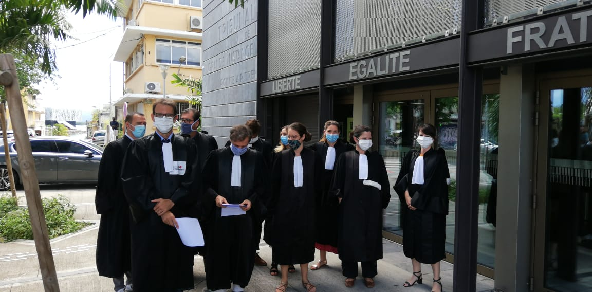 Les magistrats pointois mobilisés contre le Garde des Sceaux
