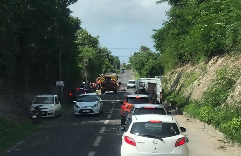 Accident mortel à Saint-François