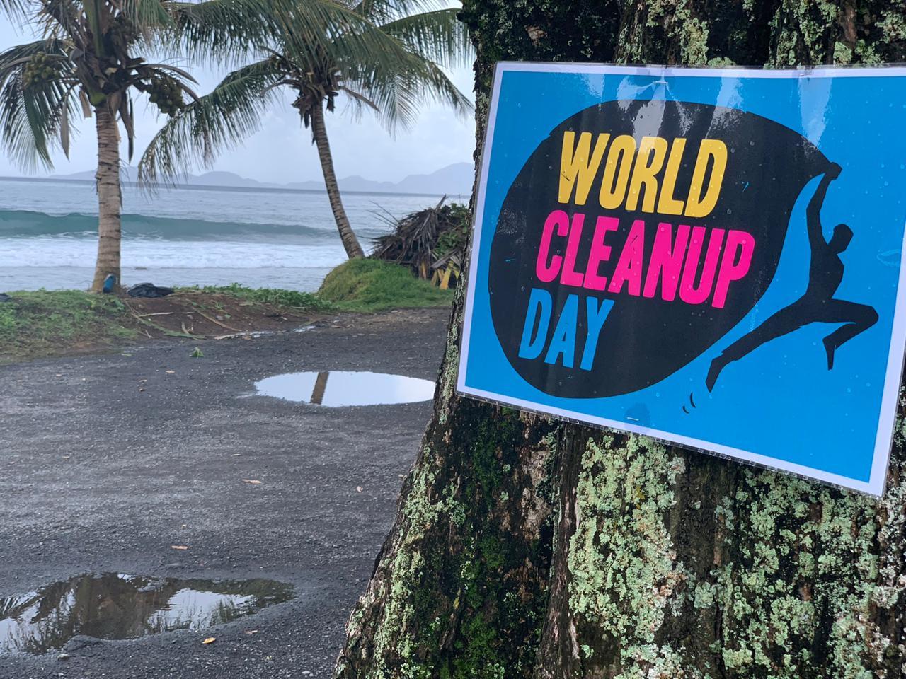 Opération de nettoyage World Clean Up Day à Trois-Rivières