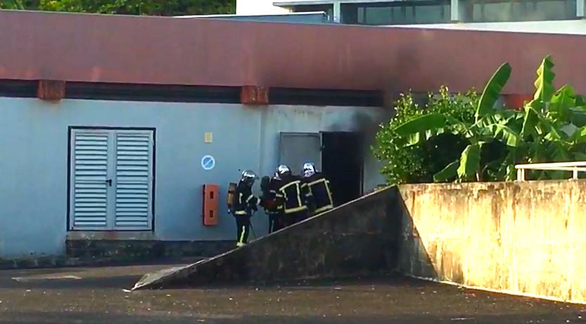Un feu se déclare à l'Université