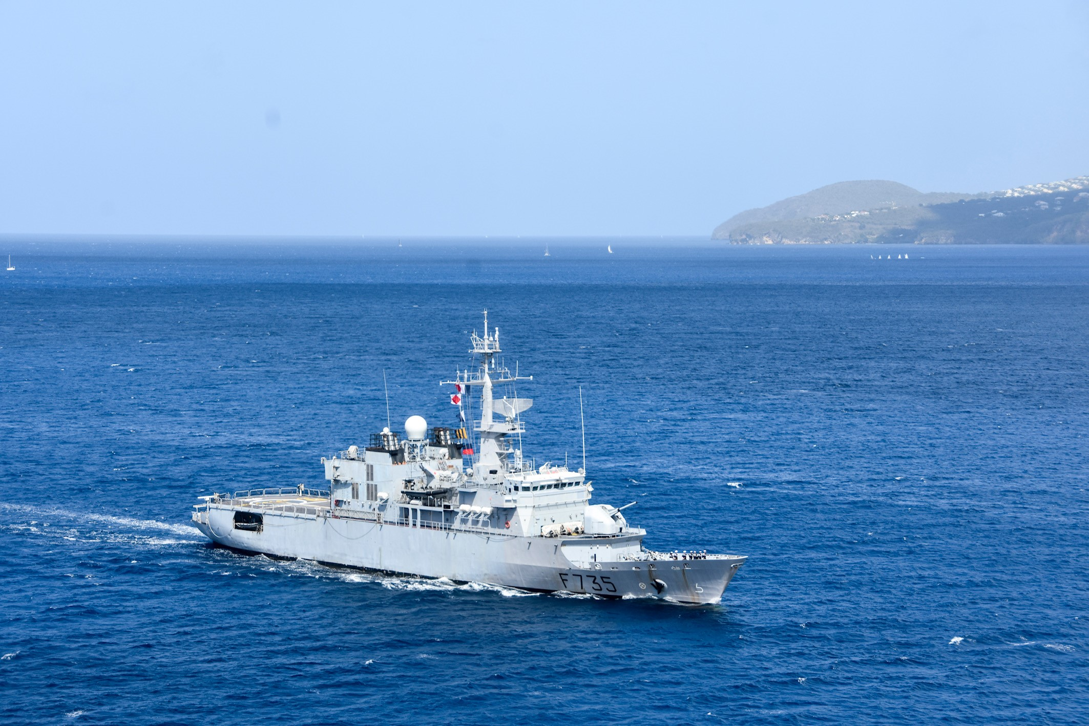 60 kilos de drogue interceptés par les Forces Armées des Antilles