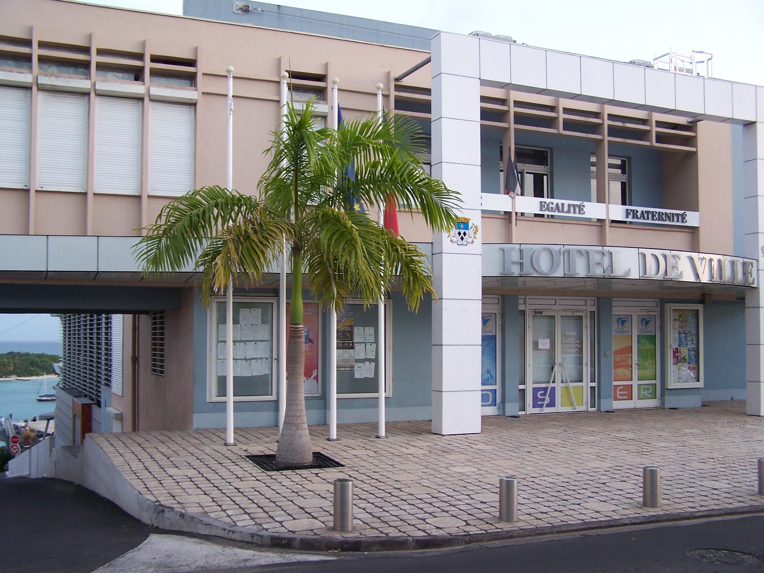 Fermeture de la mairie du Gosier pour 2 cas positifs de Covid -19
