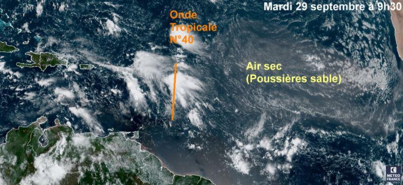 Le retour de la pluie et de l'humidité avant l'arrivée d'une onde tropicale active