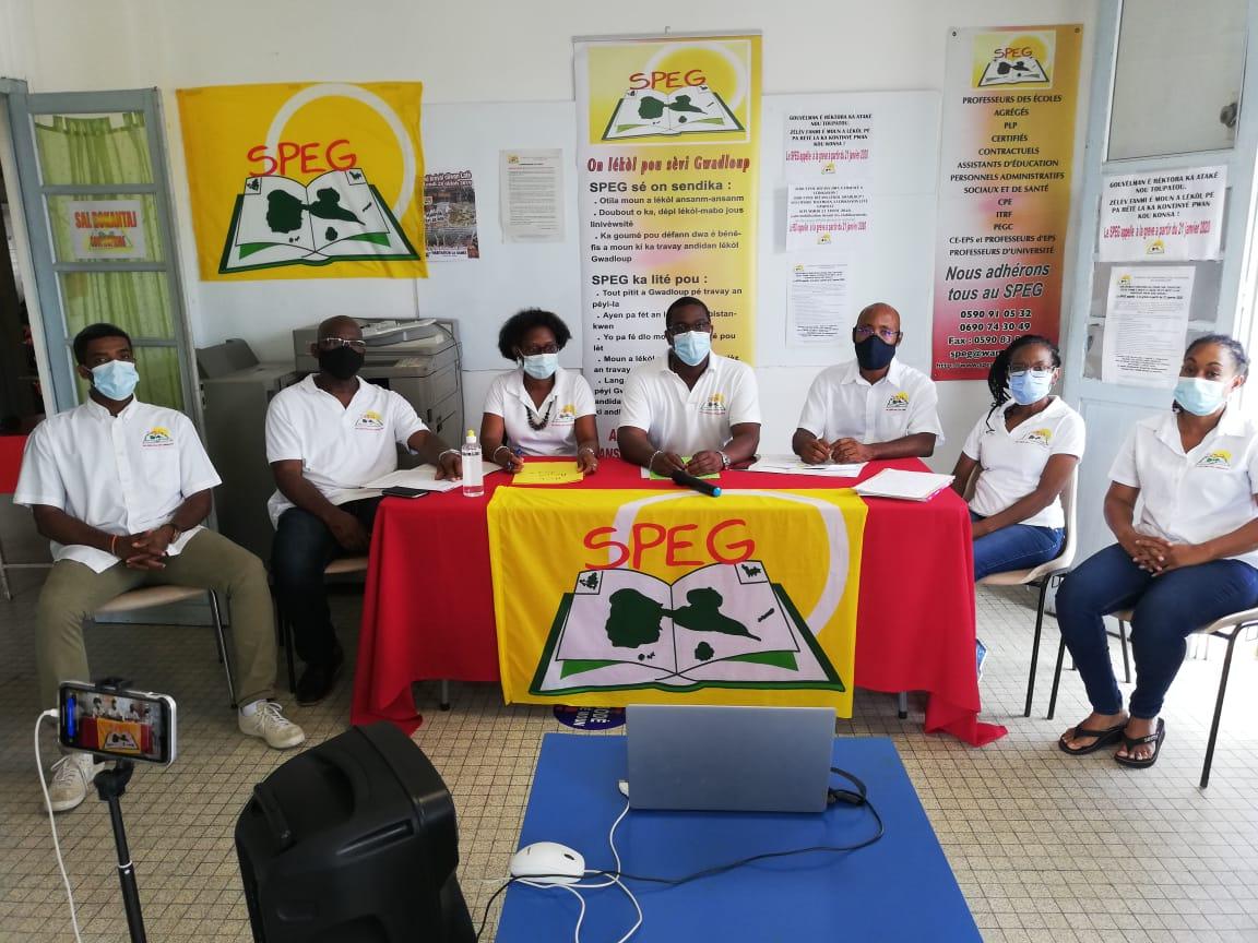 Le SPEG dénonce une absence de gestion transparente de la crise